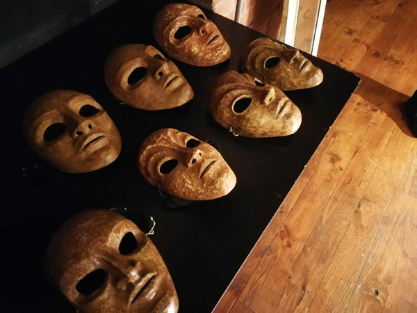 Stage de masque neutre
