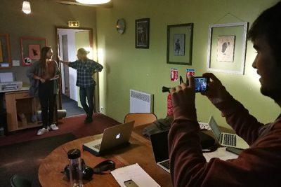 Visite de tournage et Casting Prép'Art